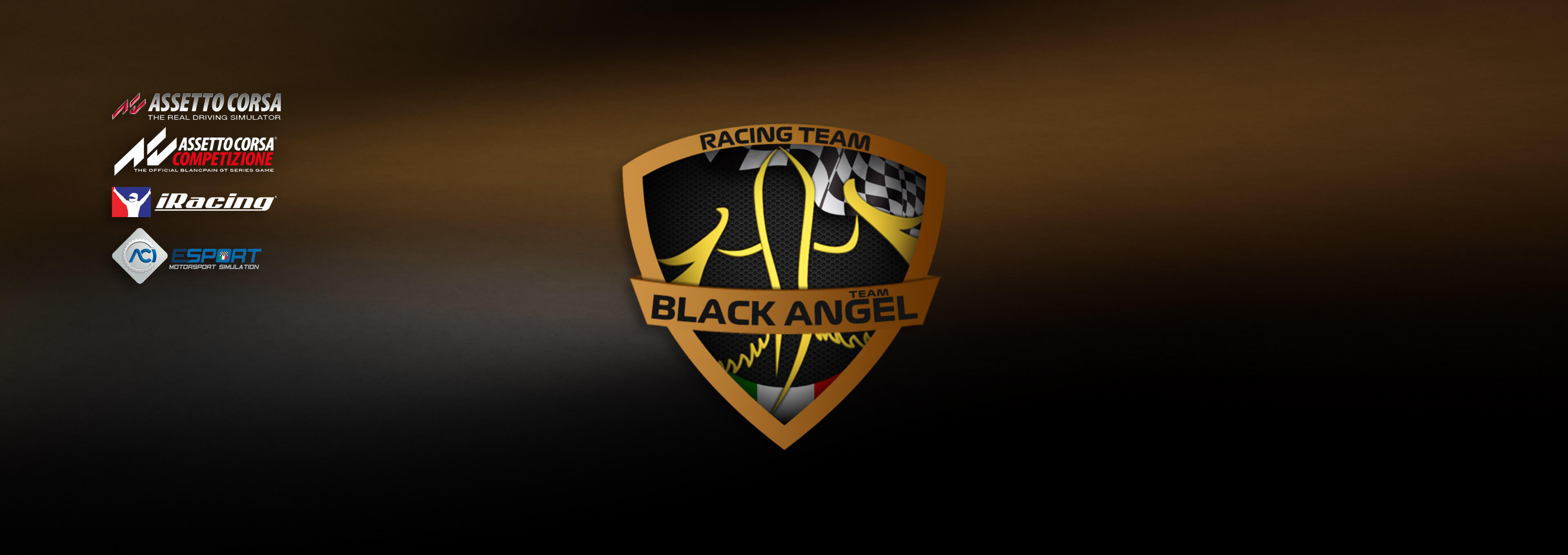 The Black Angel <span>Team</span> {[de]}WILLKOMMEN{[en]}WELCOME{[it]}BENVENUTO