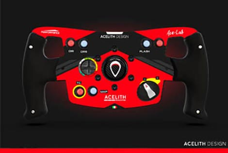 Acelith Design MOD - Rim F1 Open Wheel for T300 GTE