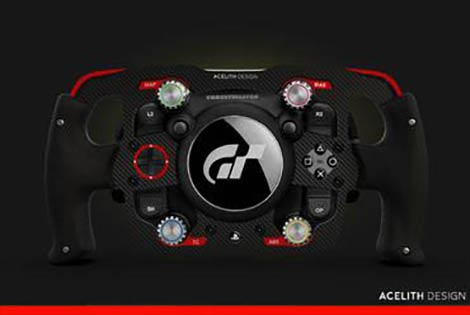 Acelith Design MOD - F1 Rim for Thrustmaster T-GT - Model 1