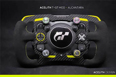 Acelith Design MOD - GT style - For Thrustmaster T-GT, by Acelith Design.